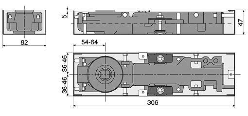 BMB-4000高級地鉸鍊